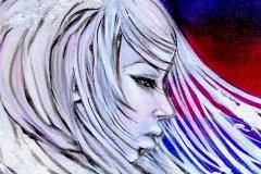 Acrylic-on-canvas